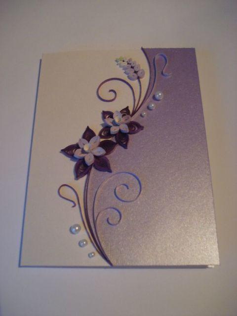cartão decorado