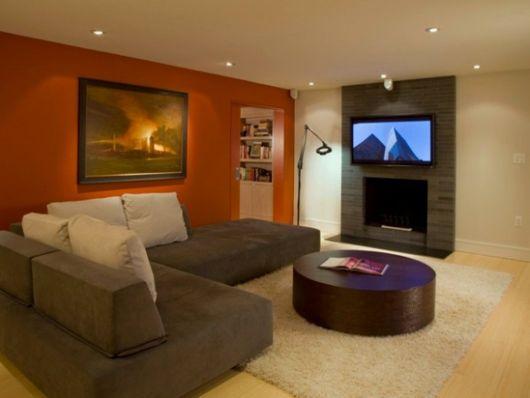 Sala com sof marrom ideias melhores combina es e 30 fotos - Poltrona design low cost ...