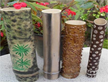vasos-de-bambu-com-pintura