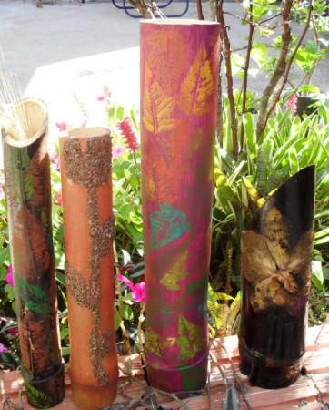 vasos-de-bambu-pintado