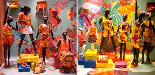 Vitrine de Carnaval Como montar? Confira dicas e fotos incríveis! -> Decoração De Loja Carnaval