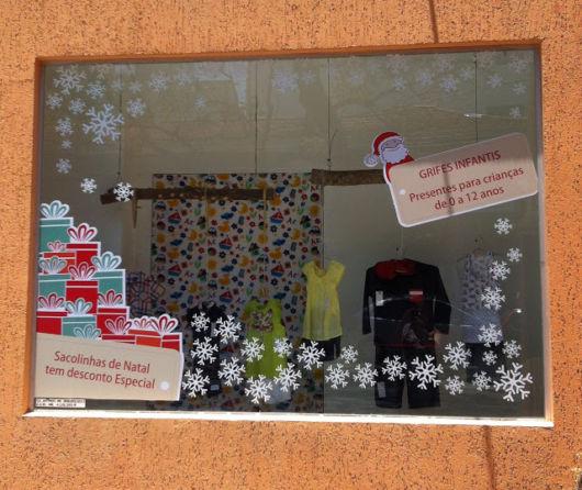 vitrine-de-natal-simples-pintura