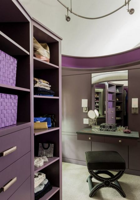 móveis planejados coloridos