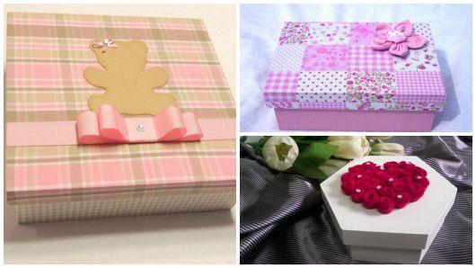 decoração com tecido e feltro