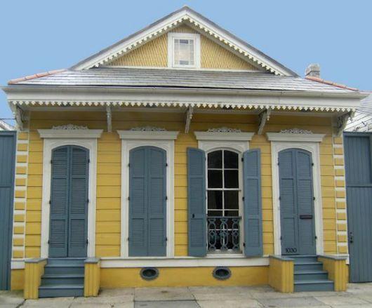 casa-cinza-e-amarela-terrea