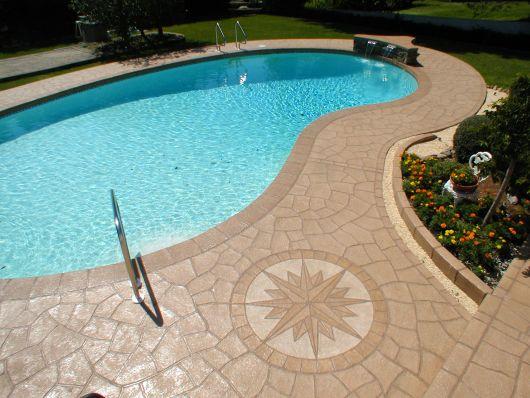 Concreto estampado o que passo a passo e de 30 fotos for Swimming pool resurfacing sydney