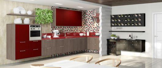 cozinha-marrom-com-vermelho-projetos