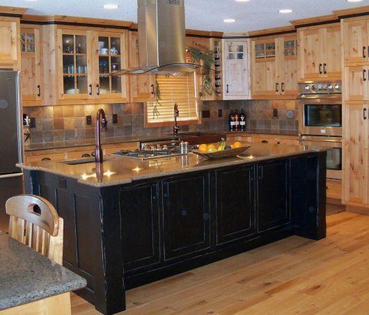 Paint Colors With Medium Oak Kitchen Cabinets: Cozinha Marrom: Dicas, Combinações E + De 30 Projetos