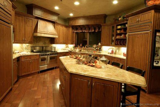 cozinha-marrom-tradicional