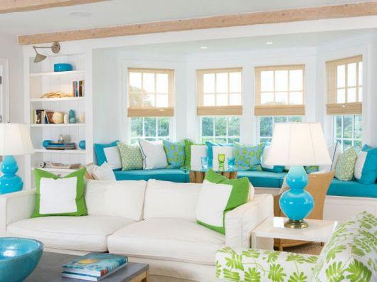 decoracao-azul-turquesa-na-sala