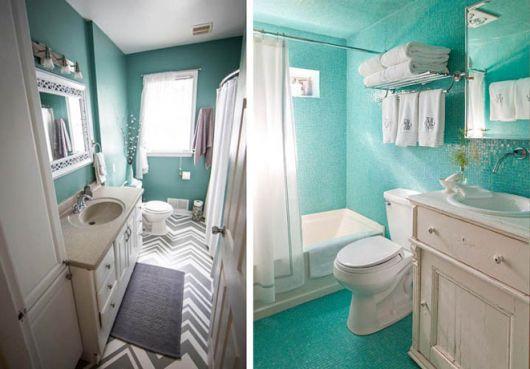 decoracao-azul-turquesa-no-banheiro