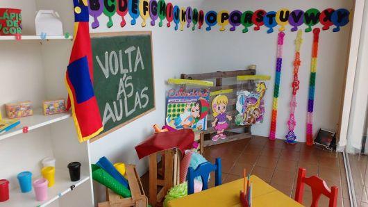 Decoração Sala de aula vários enfeites