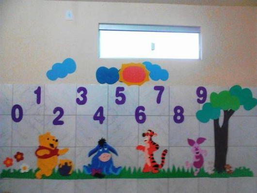 decoração Pooh