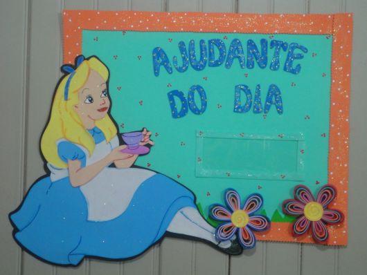 decoração Alice País das Maravilhas