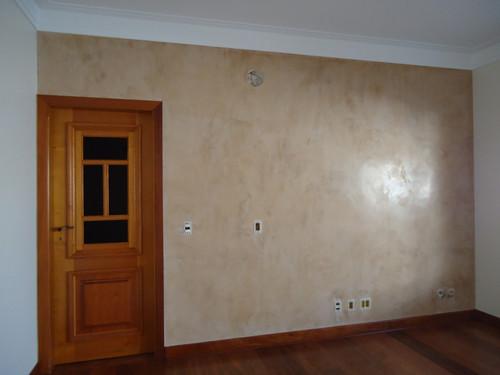 parede bege sala