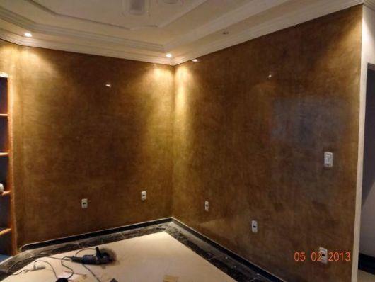 parede textura marrom