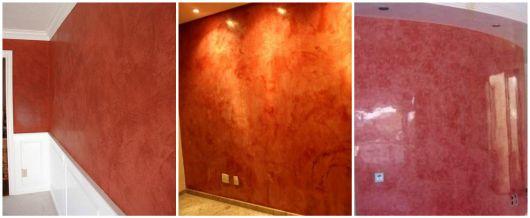 paredes vermelhas