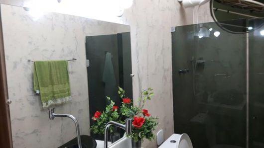 mármore branco banheiro