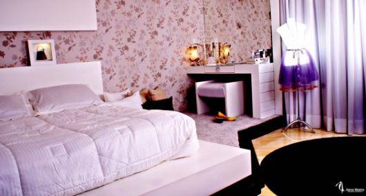 papel de parede lilás