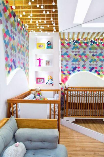 decoração moderna bebê