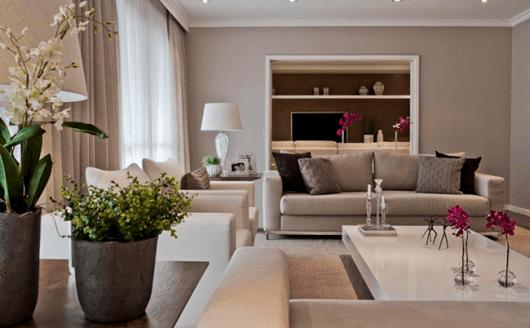 cor sala de estar