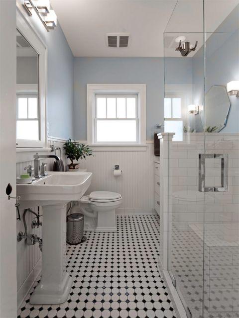 Piso branco vantagens desvantagens e 50 fotos de ambientes for Bathroom ideas victoria bc
