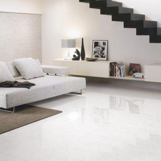 Piso branco vantagens desvantagens e 50 fotos de ambientes for Porcelanato rectificado