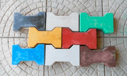 piso ossinho colorido