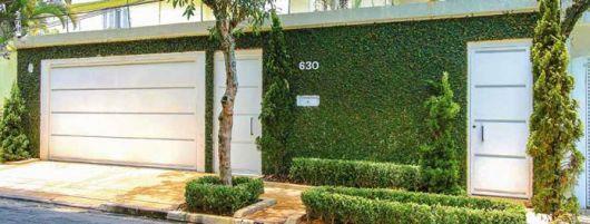 muro verde fachada