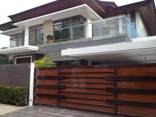 Black Window Glazing Putty : Portão de madeira vantagens preço e mais modelos
