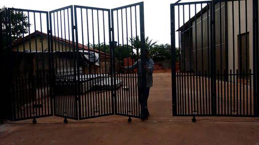 portão sanfonado