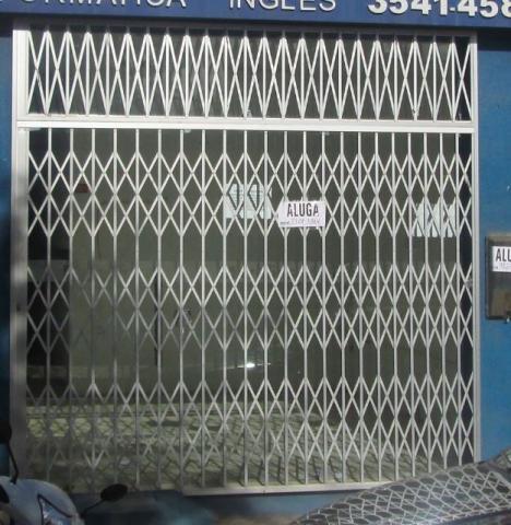 portão prateado