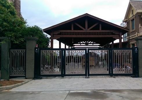 portão com rodinhas