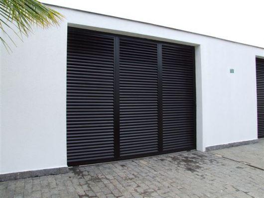 muro com portão