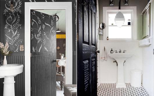 portas-decoradas-com-lousa-banheiro