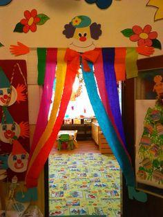 Portas decoradas dicas incr veis e de 100 modelos for Puertas decoradas con payasos