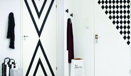 portas-decoradas-fita-preta