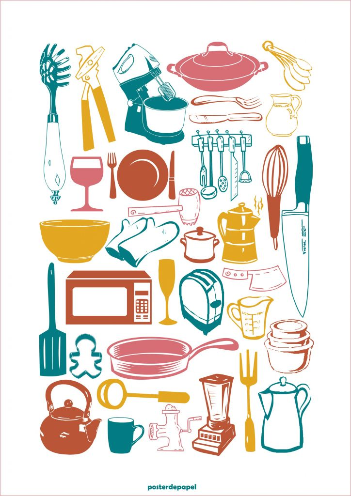 posters-para-imprimir-cozinha-ideias