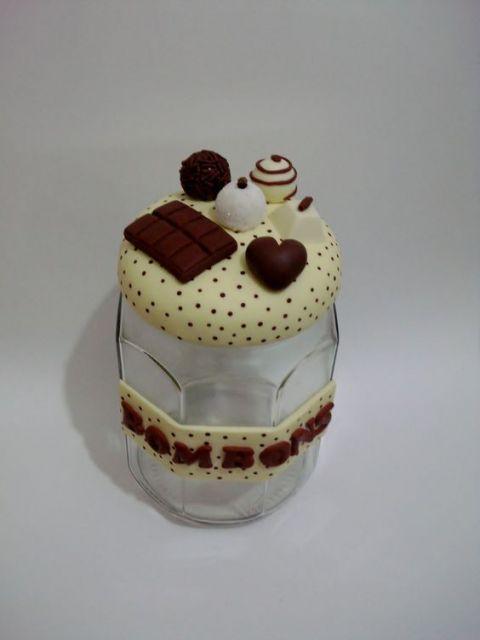 decoração chocolates