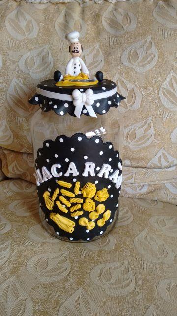 decoração macarrão