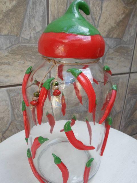 decoração com pimentas