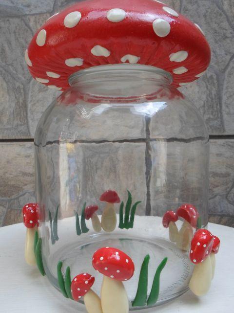 decoração cogumelo