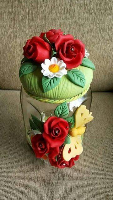 decoração rosas