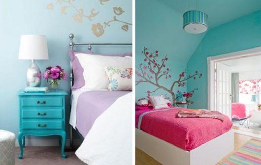 quarto-decoracao-azul-turquesa