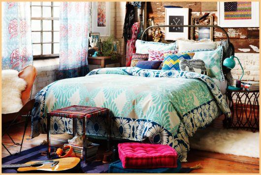 Quarto Hippie Dicas, ideias para decorar e 30 fotos  ~ Quarto Personalizado Hippie