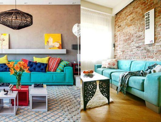 sala-com-decoracao-azul-turquesa