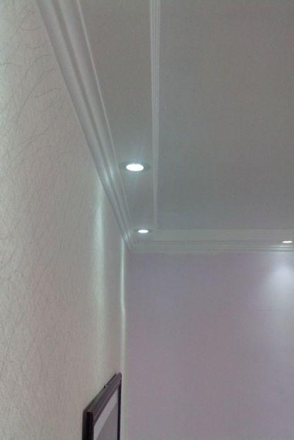 teto com iluminação embutida
