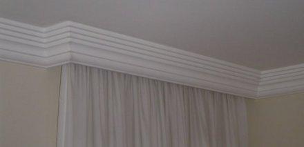 moldura para cortina