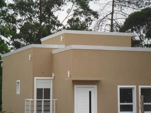 fachada pequena e moderna