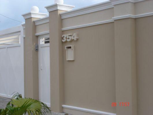 muro decorado
